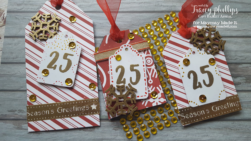 Emboss Like a Boss | Christmas Gift Tags