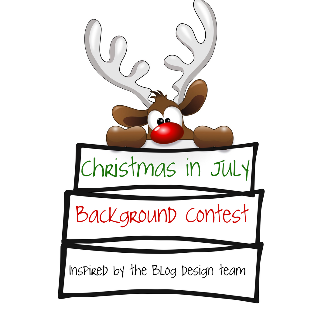 Christmas in July Background Contest Inspired by the Blog Design Team