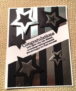 Easy Peasy Graduation Card by Crystal Cleveland