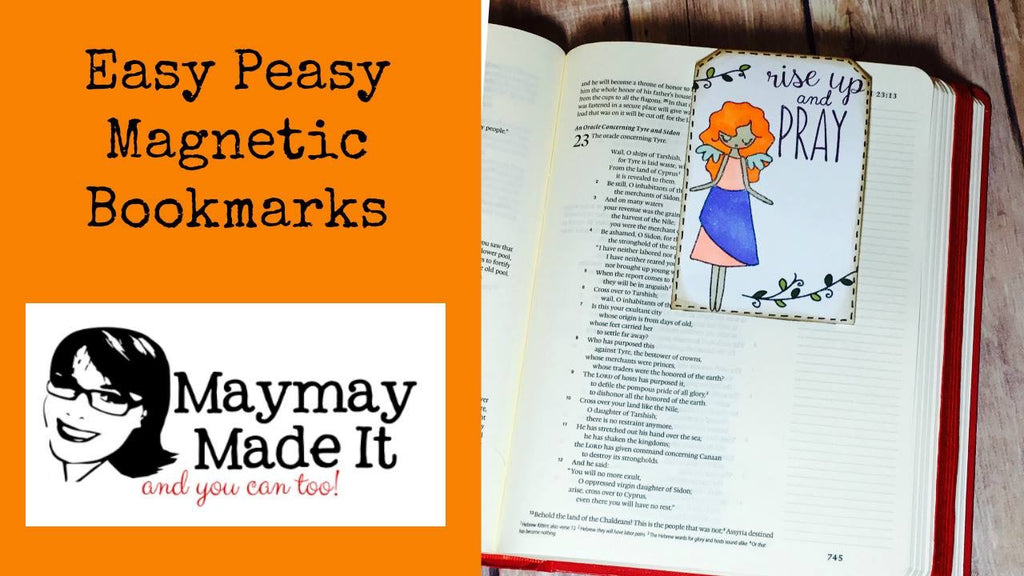 Magnet Book Marks Easy Peasy