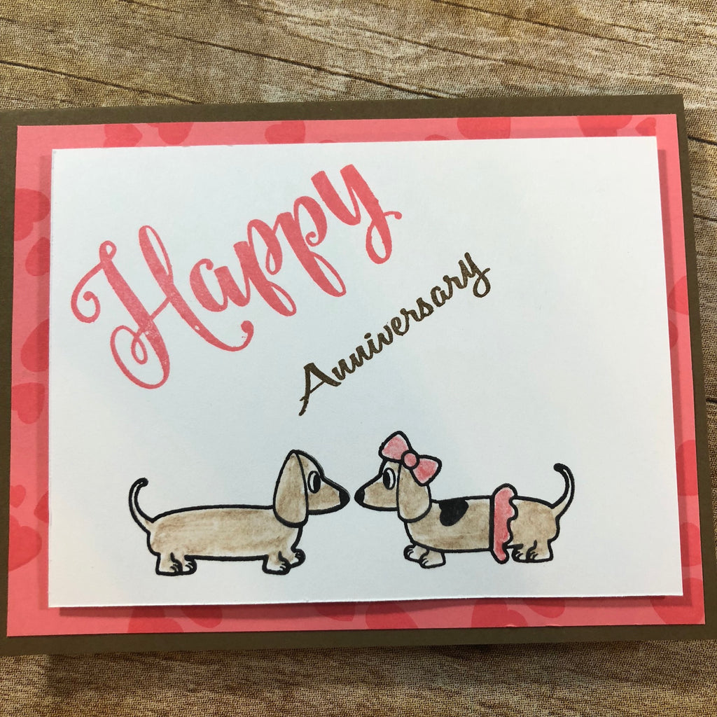 World Card Making Day -Mission InCARDible - Anniversary Card