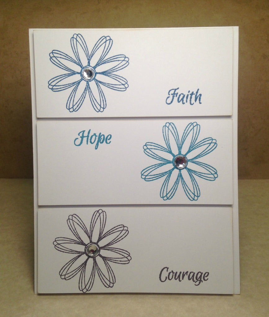 Faith Hope Courage By: Laura Wright