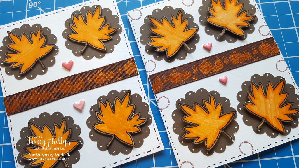 FALL LEAF CARD & COLOR THROWDOWN CHALLENGE