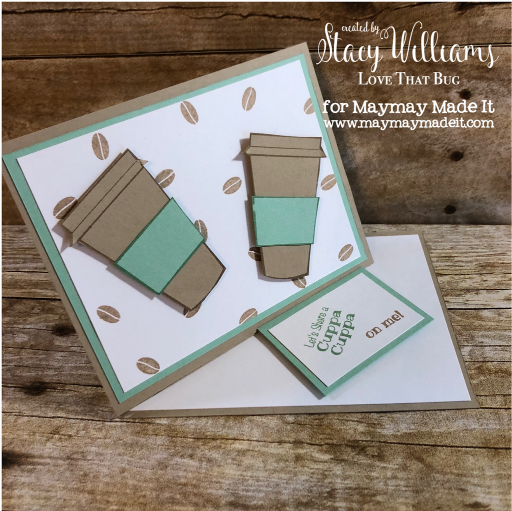 Blog Design Team Challenge | Fancy Folds | Twisted Easel Card