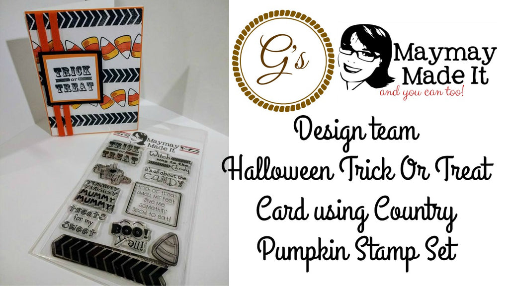 Halloween Card Using Bushel and a Peck Stamp Set