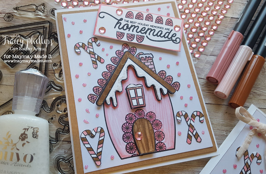 Gingerbread House Holiday Card | Blog Design Team