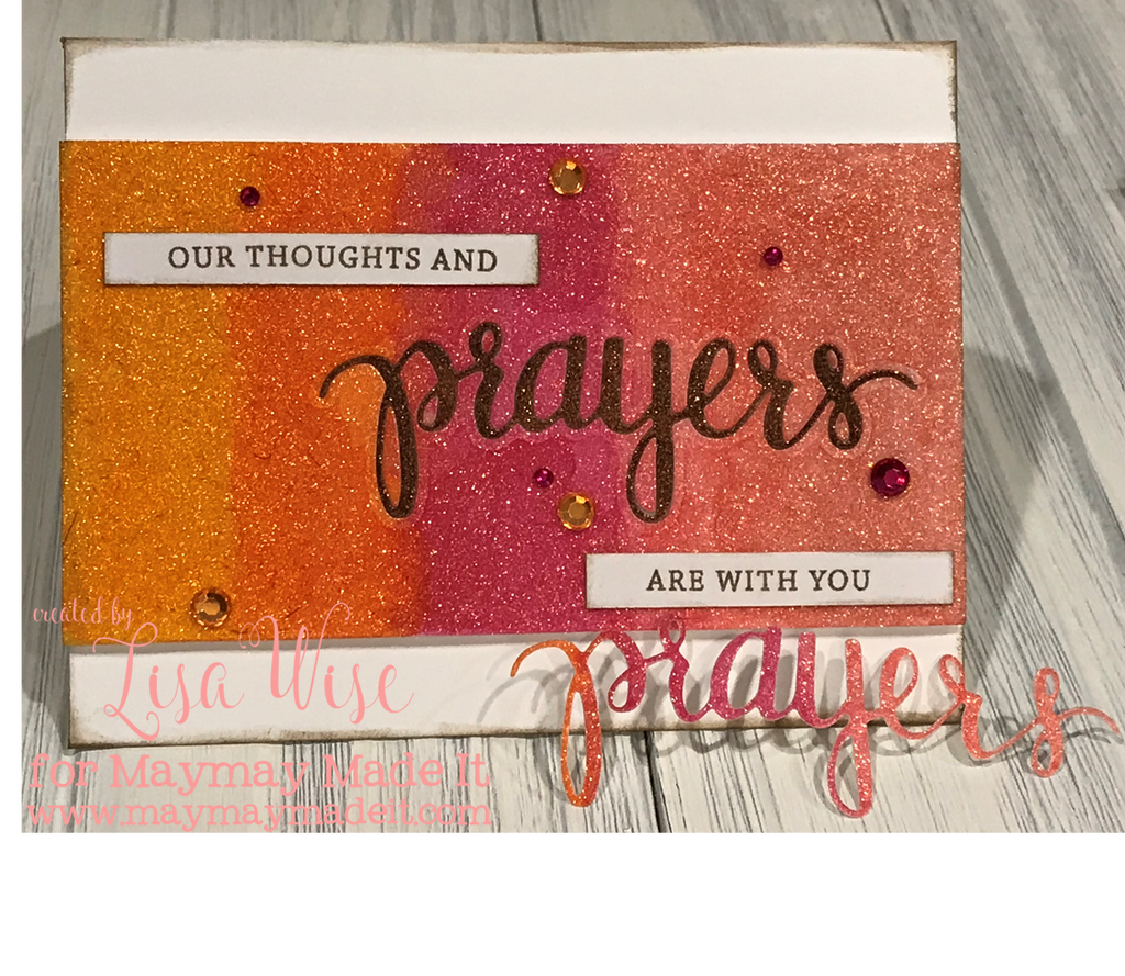 Blog Design Team Color Throw Down Challenge Prayers Card