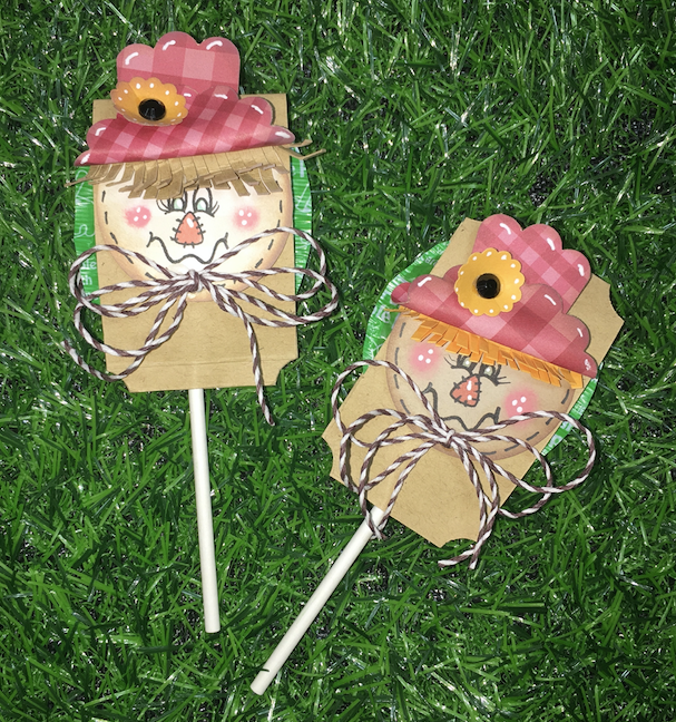 Scarecrow Lollipop Treat | The Crafter Show