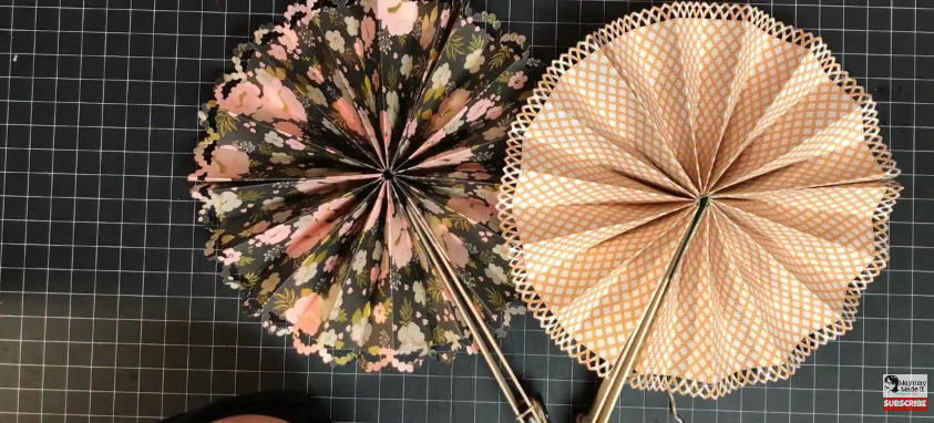 Tuesday Project Folded Paper Fans