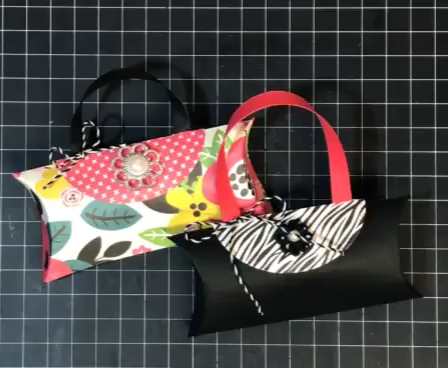 Pillow  Punch Purse~ featuring the Pillow Box Punch Board