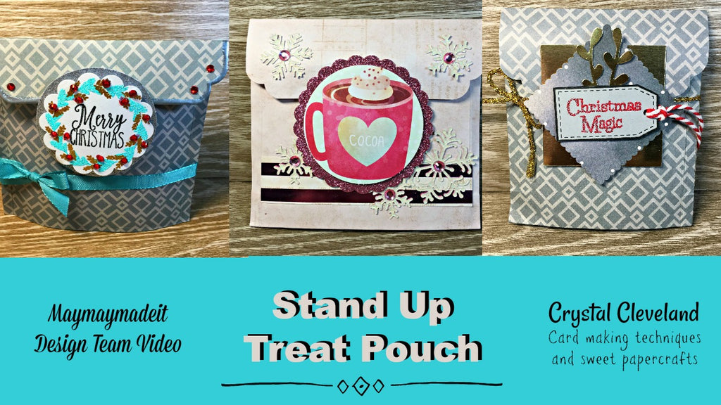 Santa Baby Stand Up Treat Bag by Crystal Cleveland