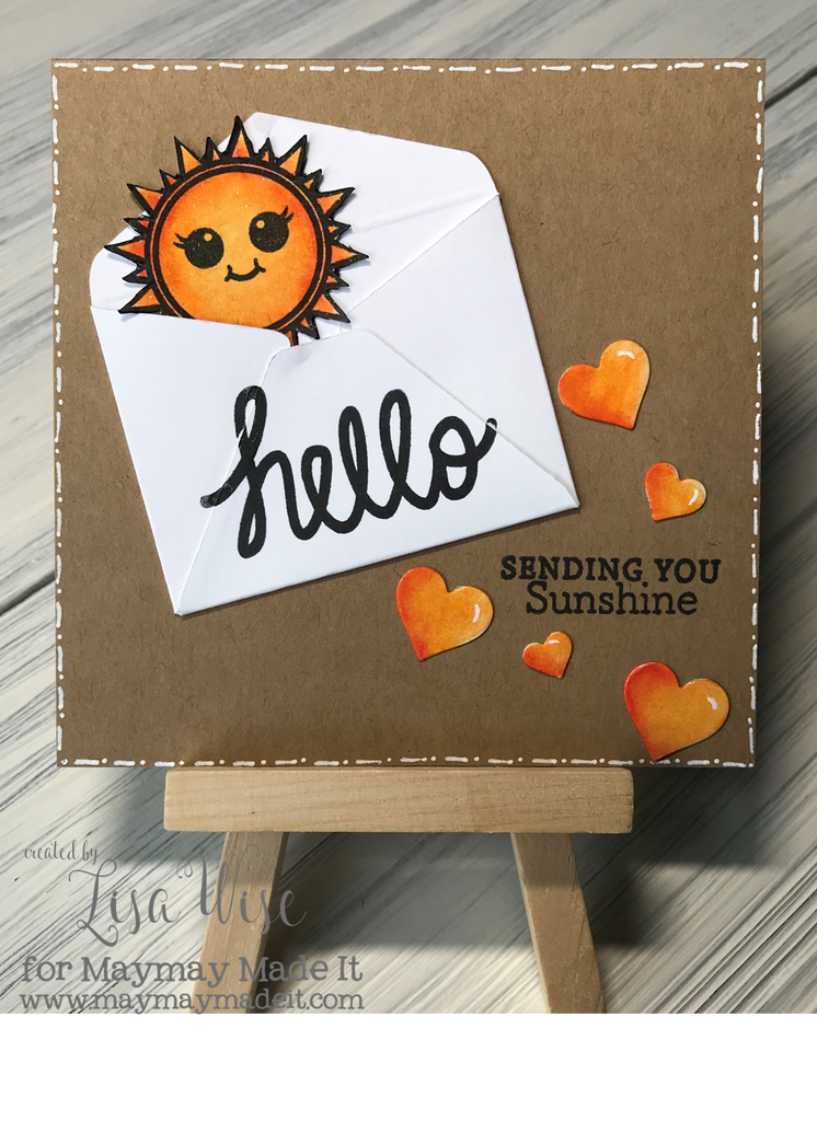 Friendly Faces Sunshine Card