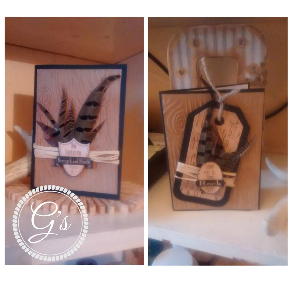 Masculine Greeting Cards By: G's Creations- Gareth Frewer