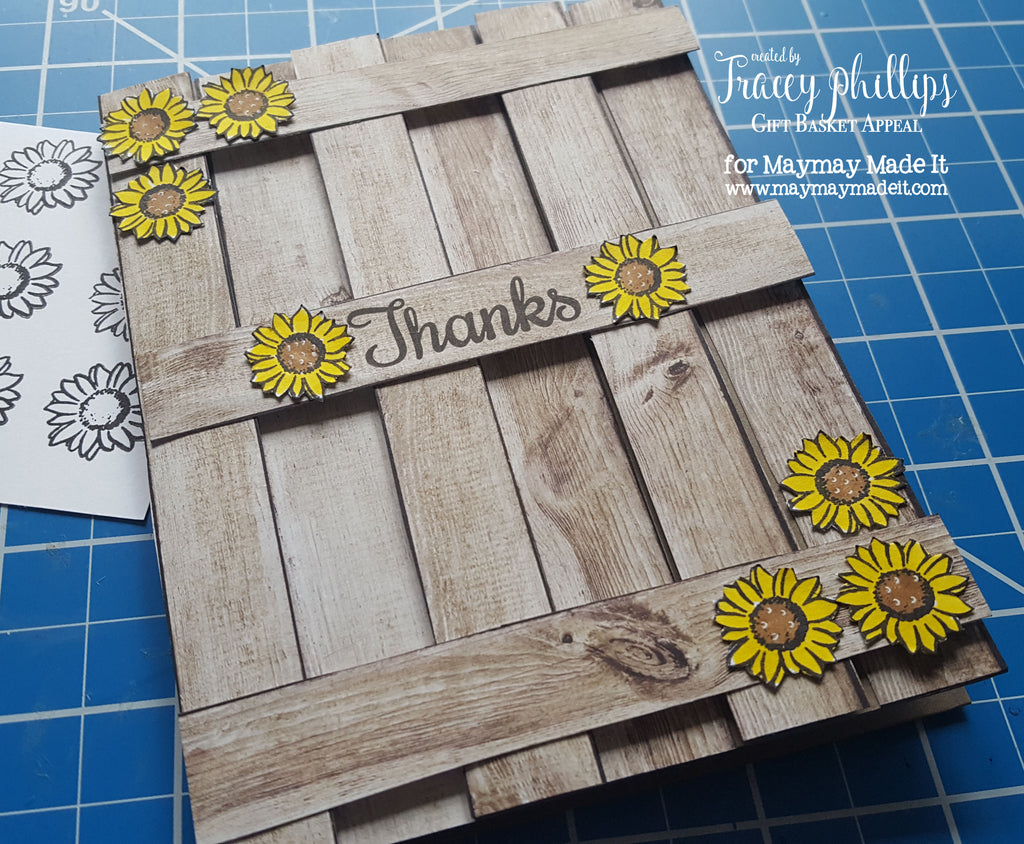 Wooden Fence Thank You Card