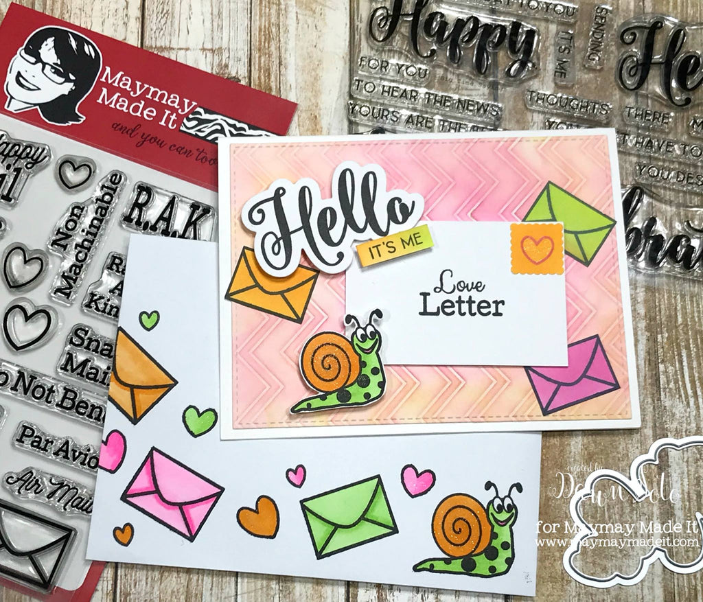 Snail Mail DT Project Created by Dawn Soto