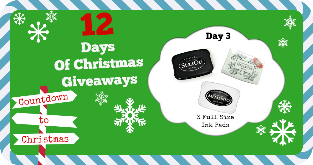 12 days of Christmas Giveaways Day 3