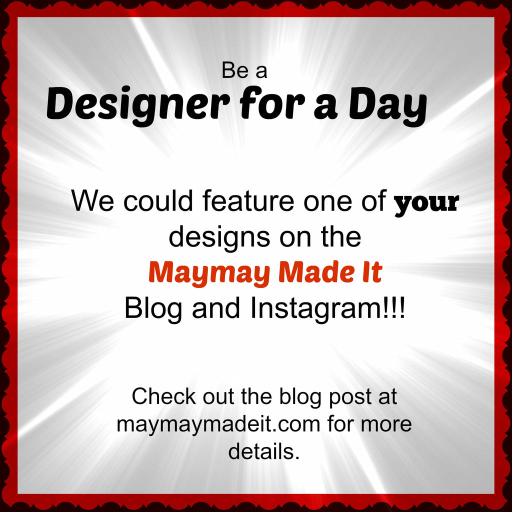 Be a Designer for a day