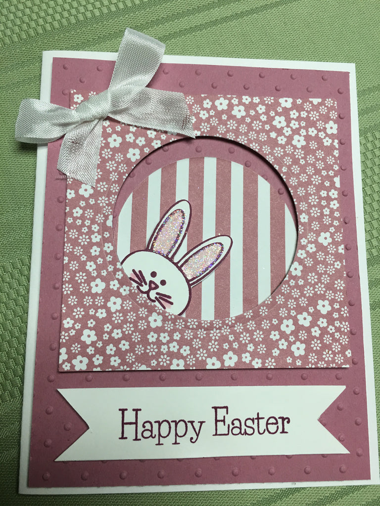 Peaking Easter Card
