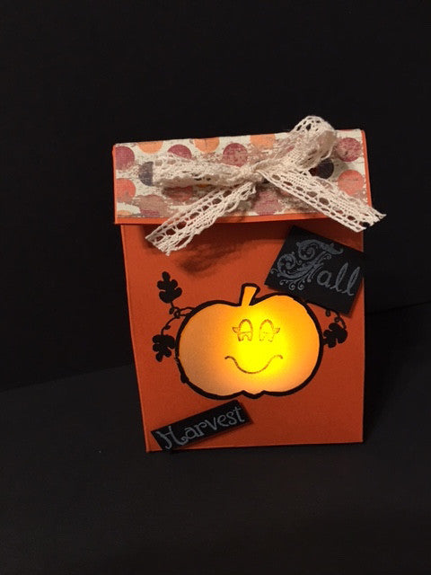 Gift Bag Tea Light by Crystal Cleveland