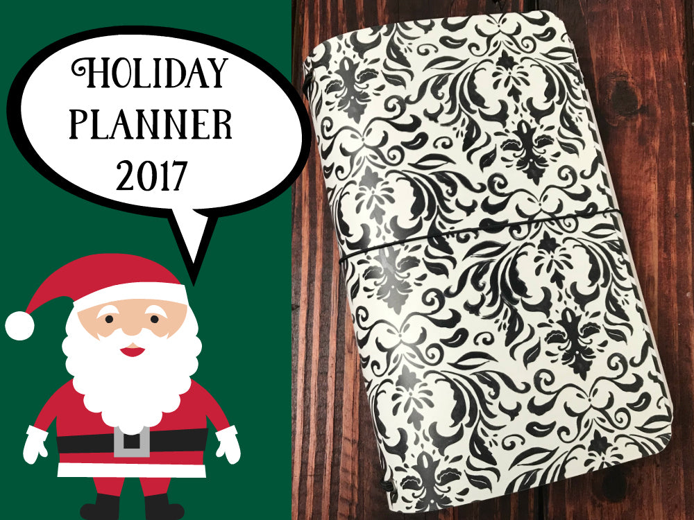 2017 Holiday Planner with FREE printable
