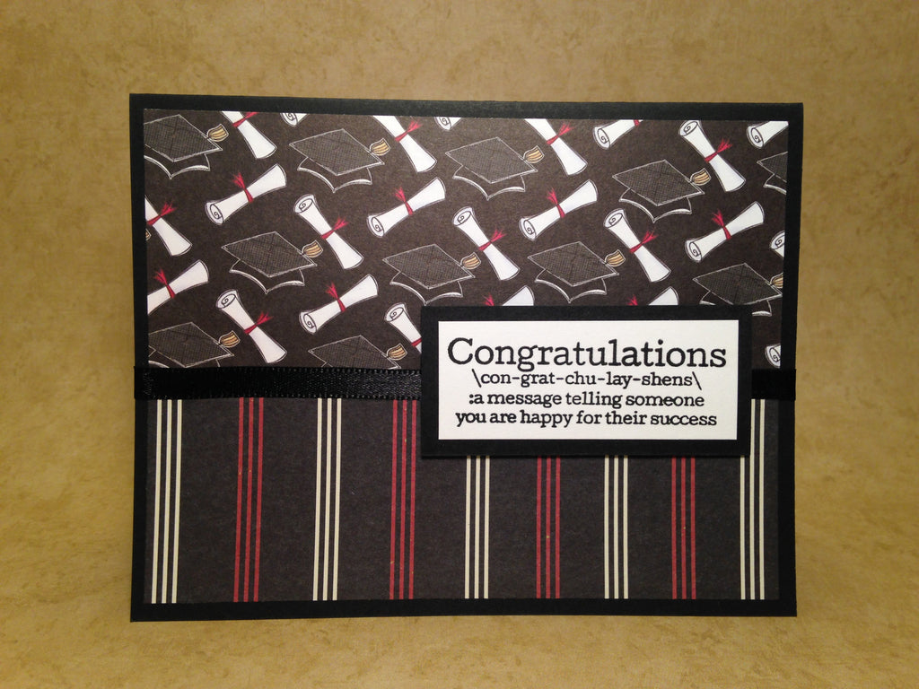 Graduation Card with Gift Card holder by: Laura Wright