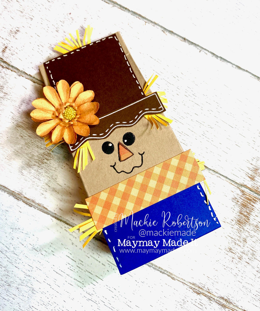 maymay's pictorial design team scarecrow treat box