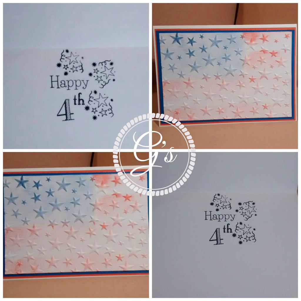 Patriotic 4th of July Card by: G's Creations - Gareth Frewer