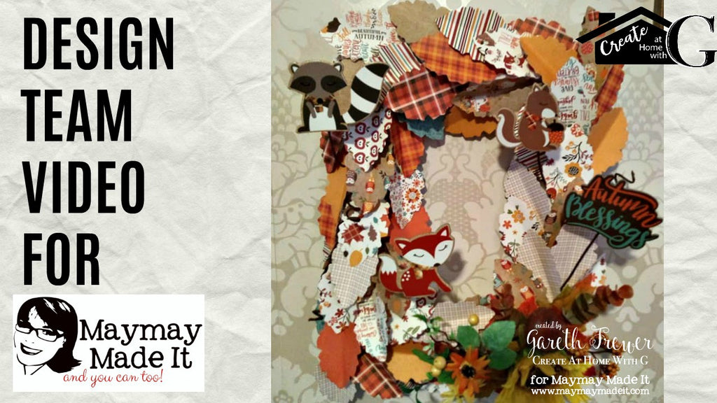 Autumn||Fall Paper Pad Wreath