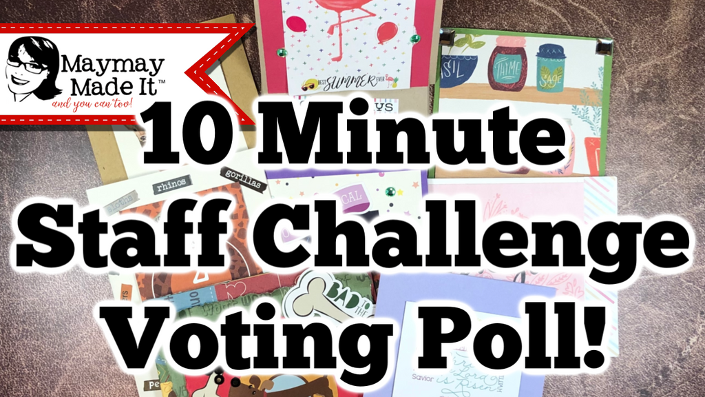 Yay! 10 Minute Card Staff Challenge