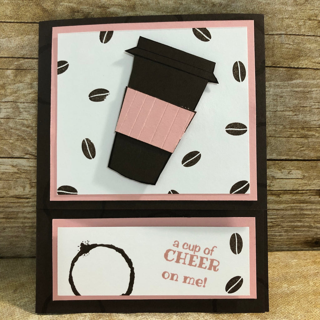 Layer It Up Blog Challenge | Coffee Gift Card Holder
