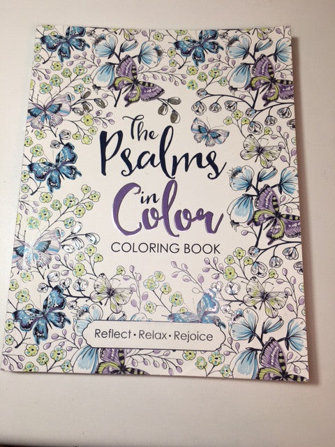 The Psalms in Color by Crystal Cleveland