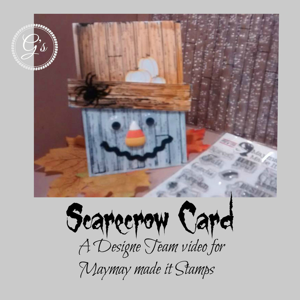 Wood Pallet Scarecrow Card: G's Creations - Gareth Frewer