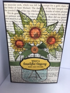 Jar of Fun Sunflowers by Crystal Cleveland