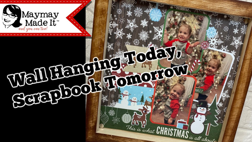 Interchangeable Scrapbook Photo Frame