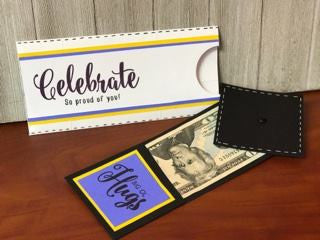 Graduation Slider Money Gift Card