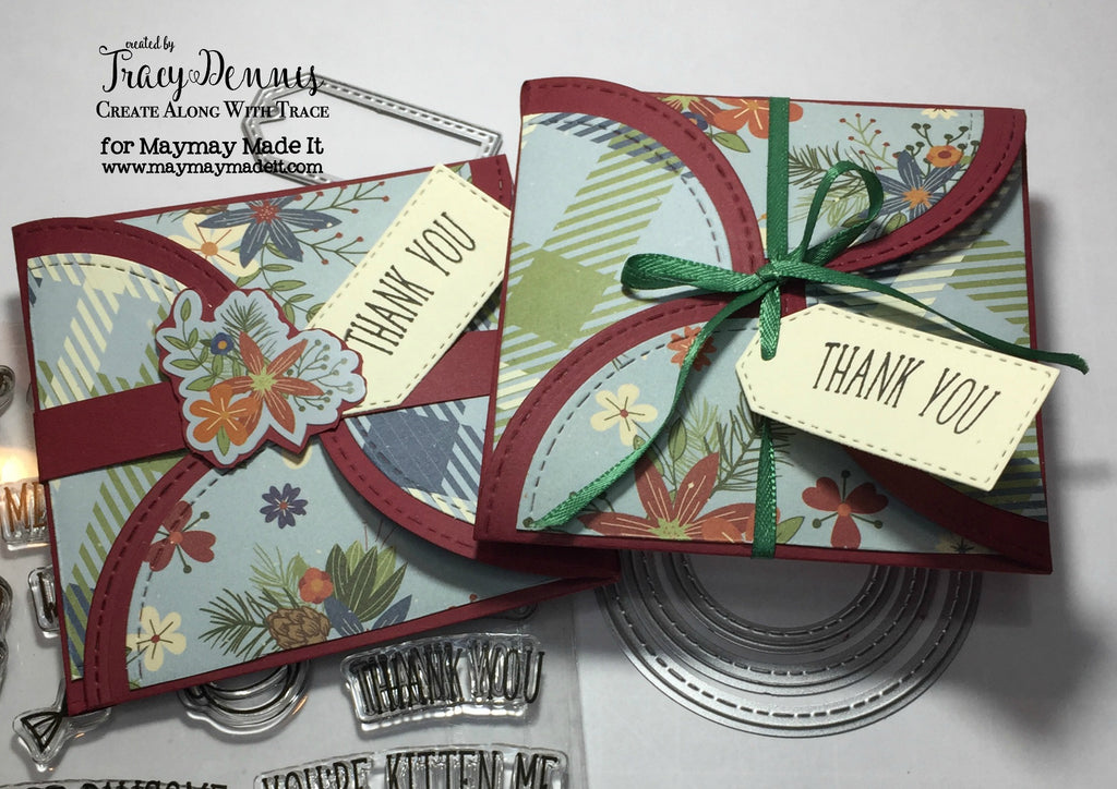 "Blog DT ""Fancy Fold"" Challenge created by Tracy Dennis"