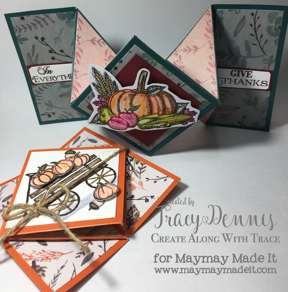 Blog DT Fancy Fold project created by Tracy Dennis