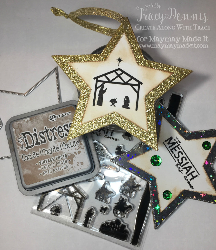 Blog Design Team project- Nativity Star Ornament