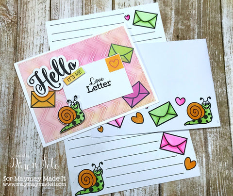 Snail Mail DT Project Created by Dawn Soto – Maymay Made It