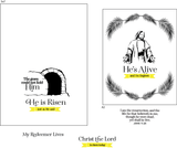 He's Alive 4x6 Stamp Set {A150}
