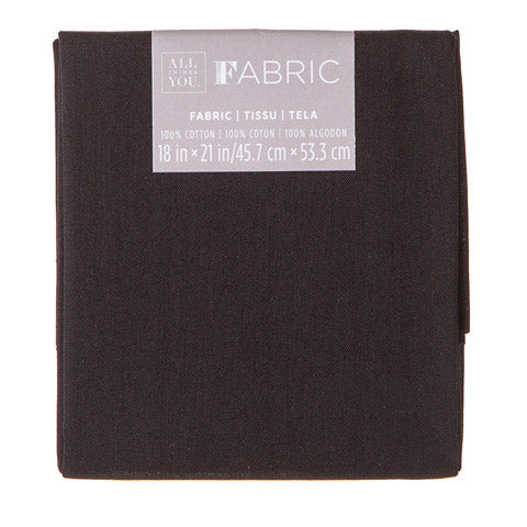Black Fabric Quarter {G183}