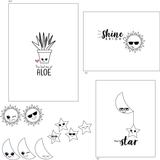 Friendly Faces Stamp Set {A12}