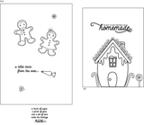 Ginger Fred 4x6 Clear Stamp Set Retail $12.99