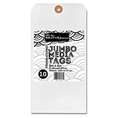 Jumbo Media Tags Brutos| Monroe retail $5.99