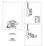 Call Upon the Lord 4x6 Stamp Set {A153}
