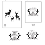 As the Deer 4x6 Stamp Set {A212}