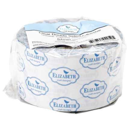 Elizabeth Craft Clear Double-Sided 2.5 inch Adhesive Tape {F09}