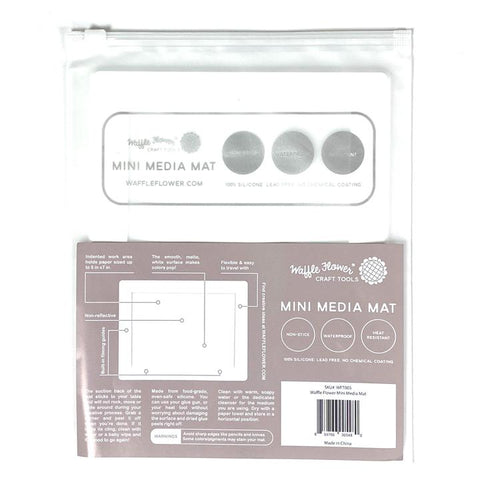 Mini Waffle Flower Water Media Mat {C407}