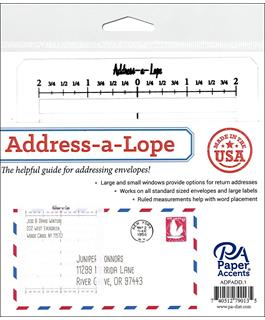 Address-a-Lope Address Template retail $9.99