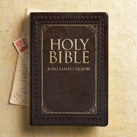 The Holy Bible retail $24.99
